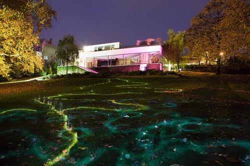 Luminografie ve vile Tugendhat s Janem Pohribným