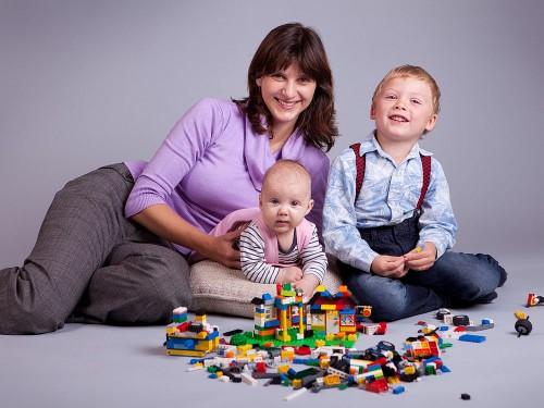 Náš ateliér je vhodný pro rodinné portréty