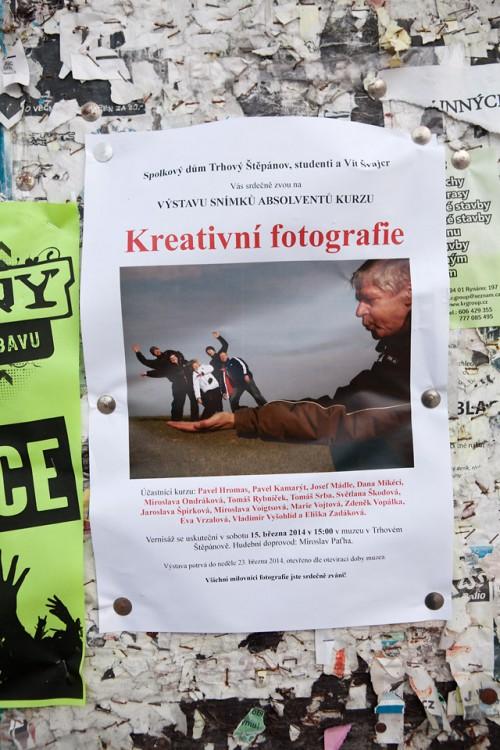 Výstava mých studentů kurzu Kreativní fotografie