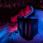 Luminografie vodárna Jesenice