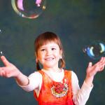 Děti a bubliny