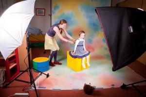 Fotografování dětí ve školce