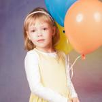 Děti s balónky