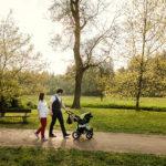 Viktůrek v parku